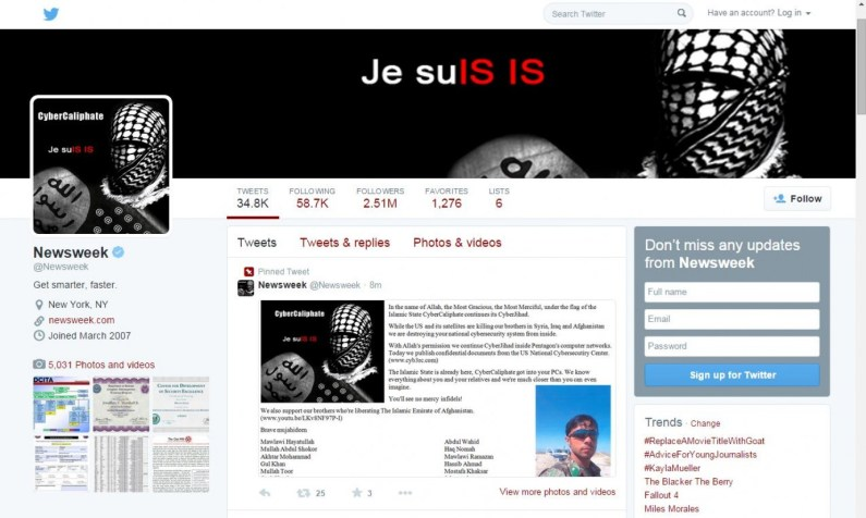CyberCaliphate Je Suis Islamic State
