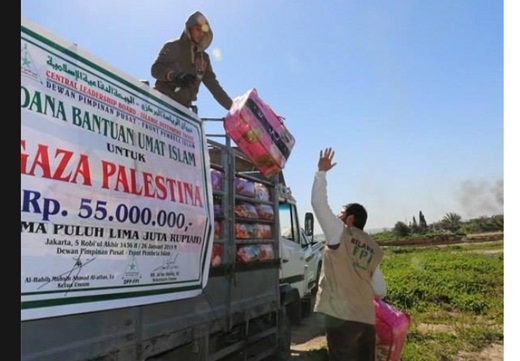 FPI Salurkan Bantuan pada Warga Gaza 2