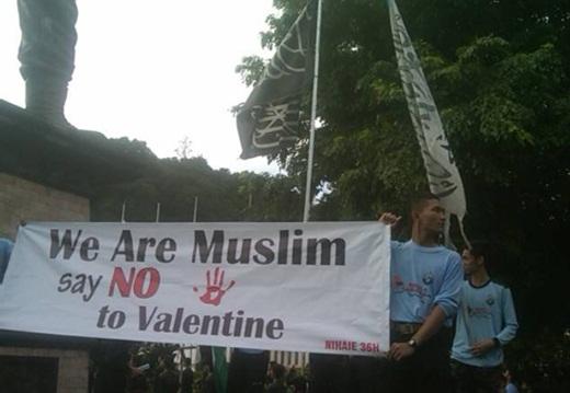 Santri Al Mukmin Solo Tolak Valentine Day 6