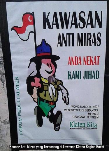 Banner Kawasan Anti Miras FPK Barat