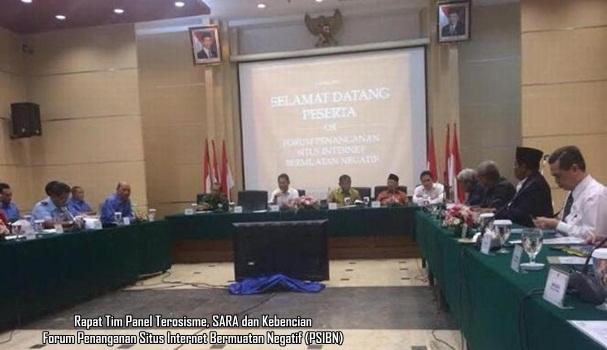 Rapat Tim Panel FPSIBN Kemenkominfo