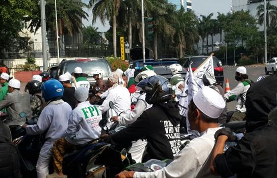 Demo Umat Islam Indonesia di Kedubes Myanmar