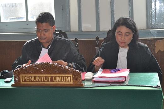 JPU Sidang Kedua Aktivis Anti Miras Solo 26 Mei 2015