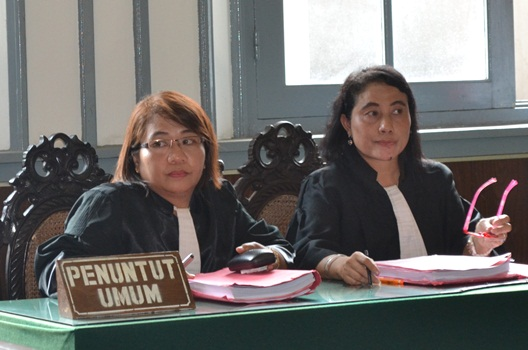 Jaksa - JPU Sidang Perdana Kriminalisasi Aktivis Anti Miras Solo