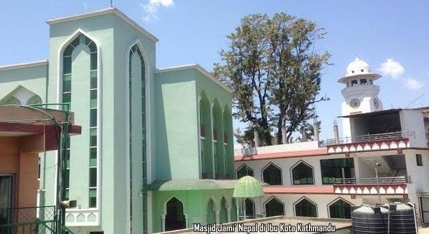 Masjid Jami' Nepal di Ibu Kota Kathmandu