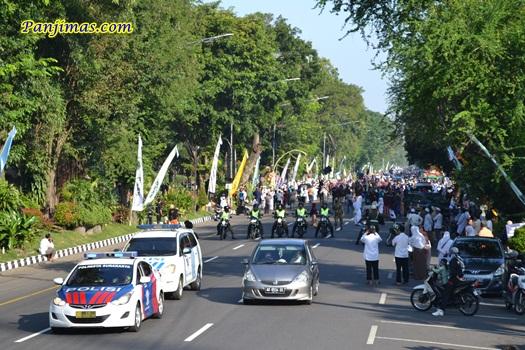 Pengamanan Parade Tauhid