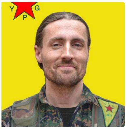 Keith Broomfield YPG Kurdi
