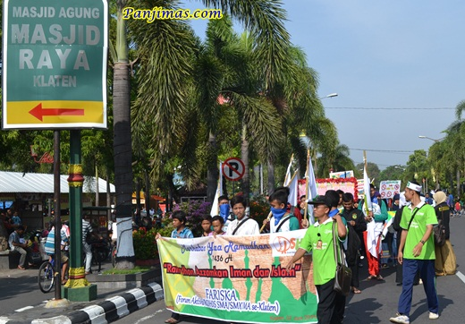 Parade Tauhid Santri TPA-TPQ se-Kabupaten Klaten 2