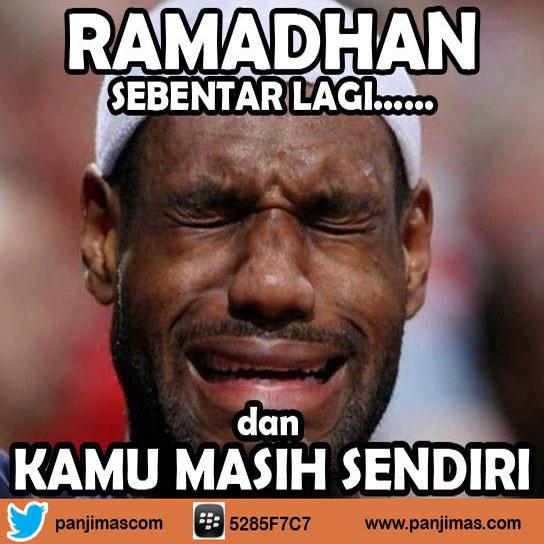 Ramadhan Sebentar Lagi dan Kamu Masih Sendiri