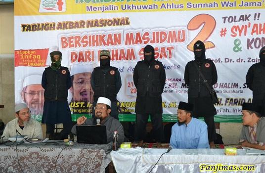 Tabligh Akbar Bersihkan Masjidmu dari Paham Sesat Komunis & Syi'ah di Solo 9