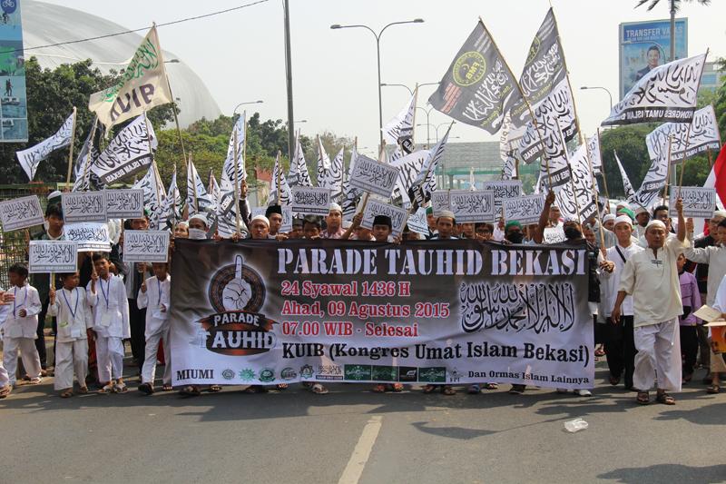 Parade Tauhid Bekasi 1