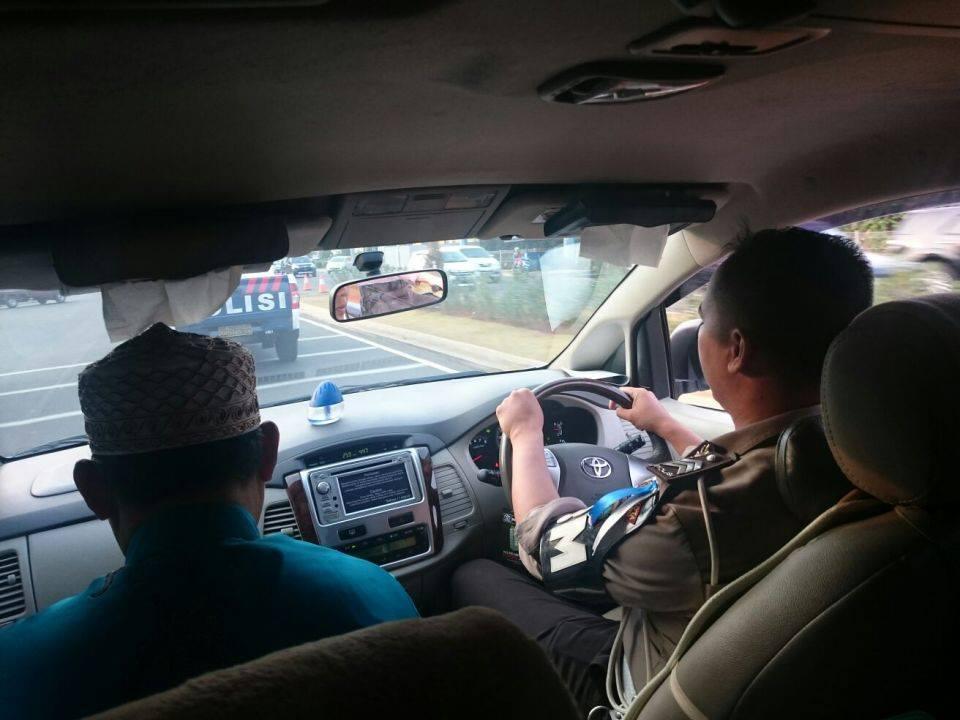MMI Ustadz Abdul Wahab diamankan polisi