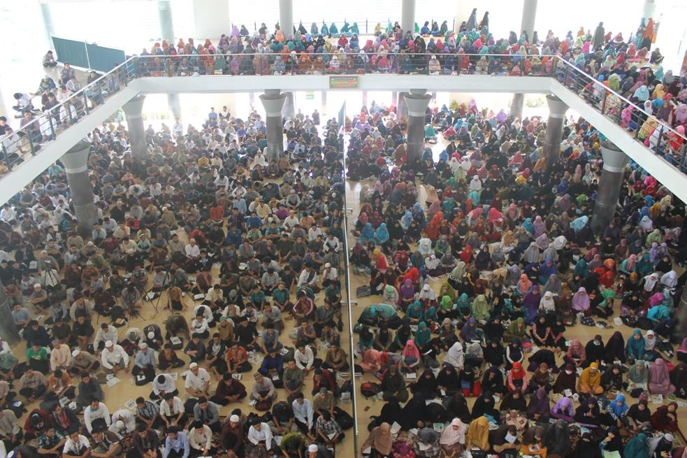 Ribuan Guru TPQ Hadiri Indonesia Mengaji