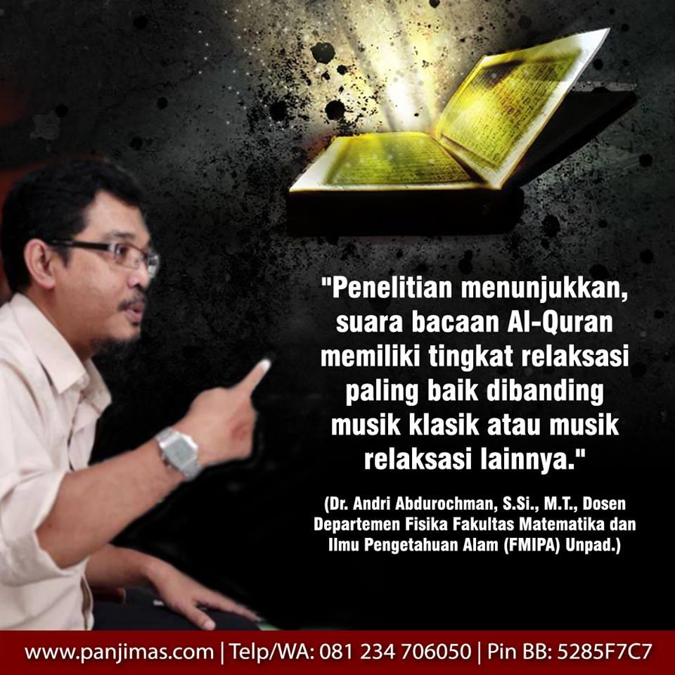 Mukjizat Bacaan Al Qur'an