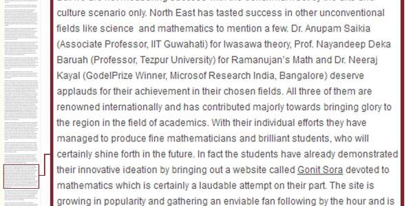 Some emerging success stories from the North East India - Fried Eye-GonitSora