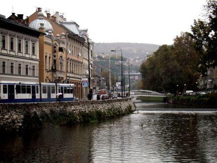 Rzeka Miljacka