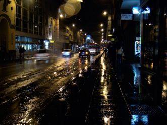 Wieczoczorny spacer- Ulica Marszałka Tito