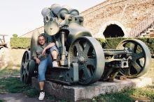 Kalemegdan- muzeum wojskowe- na armacie Pankazek