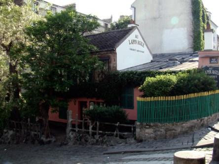 Rue des Saules- Lapin Agile- słynny Paryski kabaret