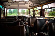 Wnętrze autobusu Jelcz 043