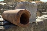 Ruiny Kamiros- starożytne rury wodociągowe