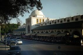 Miasto Rodos- budynek nowego targu