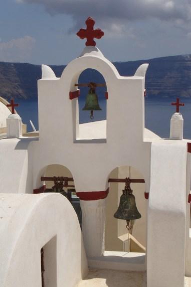 Oia- dzwonnica kościelna