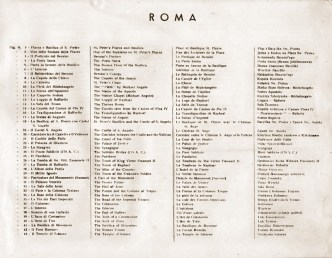 ROMA- Spis ilustracji cz.1