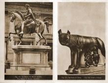 49.Statua Marka Aureliusza ____ 50.Wilczyca Rzymu