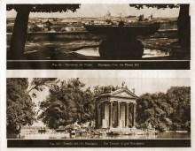 68. panorama z pagórka Pincio ____ 69. Świątynia Eskulapiusza