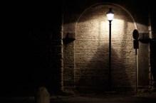 Rzym nocą- Viale della Trinità dei Monti