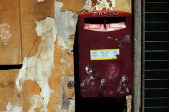Skrzynka pocztowa na Borgo Pio