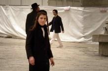 JEROZOLIMA- Plac pod Ścianą Płaczu- młody chasyd