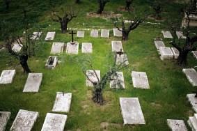 JEROZOLIMA- Dolina Cedronu - cmentarz