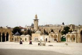 JEROZOLIMA- Wzgórze Świątynne- zabytkowe budowle