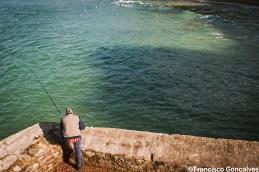 Pescando en Ondarreta / Fishing in Ondarreta