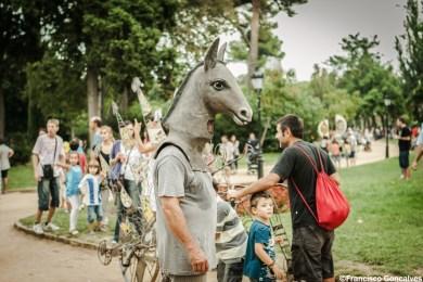 Performances at Parc de la Ciutadella