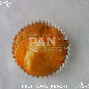 FRUIT CAKE (PEACH) BY JAPANESE BAKERY IN MALAYSIA