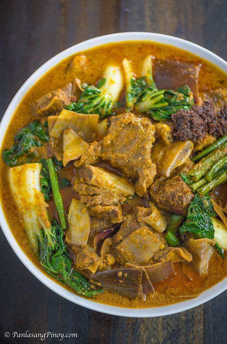 Beef Short Rib Kare Kare - Panlasang Pinoy