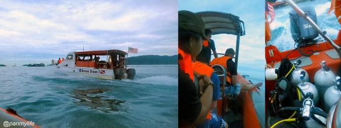 PADI rescue course with Borneo Dreams
