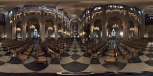 aufgerolltes Geo- Panorama von Frankfurt (Oder) aufgerolltes Geo- Panorama von Paris Notre Dame