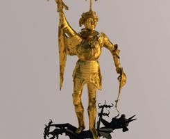 Numérisation de la statue de St-Michel