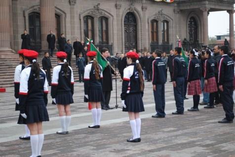 Se celebró el Día de la Bandera en todo el territorio nacional