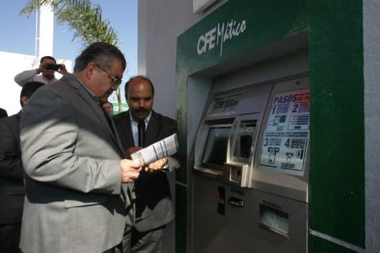 Es el primer cajero de auto pago en Nuevo León.