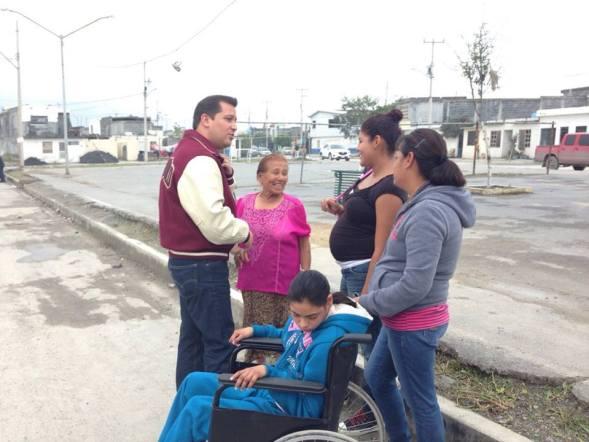 Anuncia Iván Garza ventanilla única para discapacitados en cada oficina municipal de Monterrey