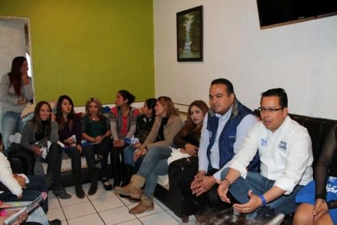 Héctor Castillo se preocupa por la salud y el bienestar de la mujer