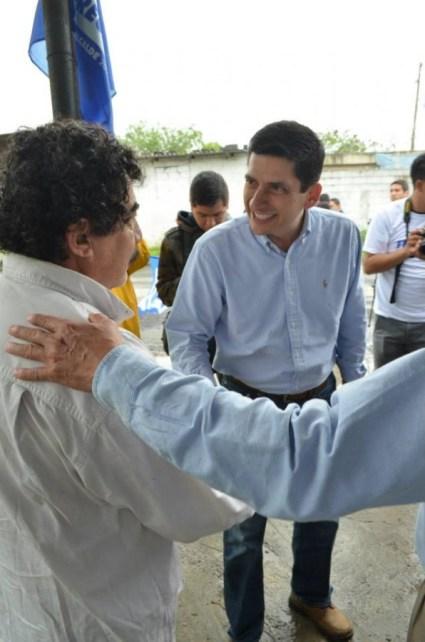 Se comprometió con los ciudadanos a mejorar las condiciones de vida