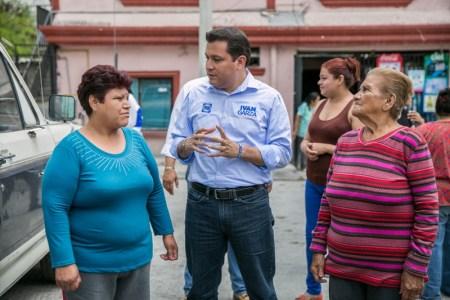 Iván Garza, candidato del PAN a la Alcaldía de Monterrey, propuso establecer en forma permanente capacitación a las mujeres