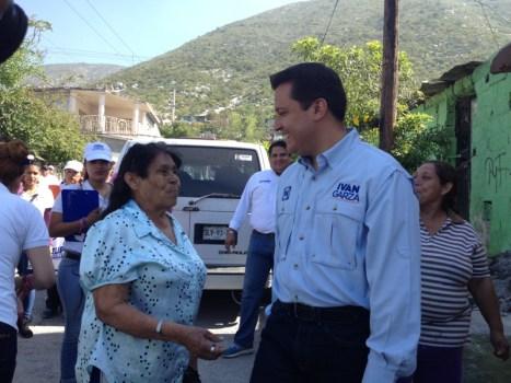Anunció  de ganar la elección, emprenderá un programa durante su trienio para reconstruir y pavimentar cinco mil calles.