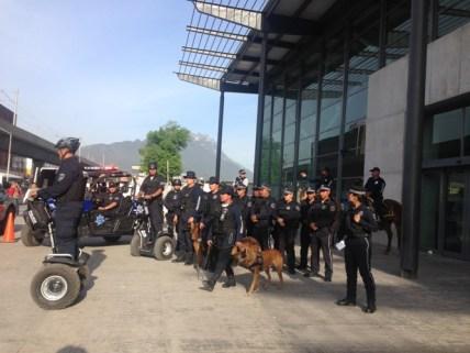Arrancó el operativo de seguridad en el Primer Cuadro de la Ciudad y alrededores